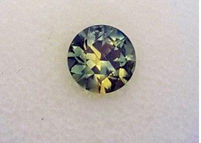 1.72ct golden green Australian Parti Sapphire